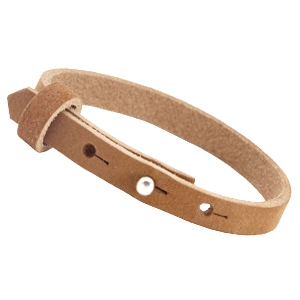Dames armband Cognac brown