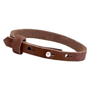 Dames armband Chocolate brown