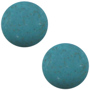 Schuiver 12 mm mat Flake Dragonfly blue