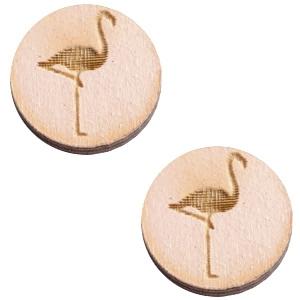 Schuiver 12mm flamingo Nude cream pink