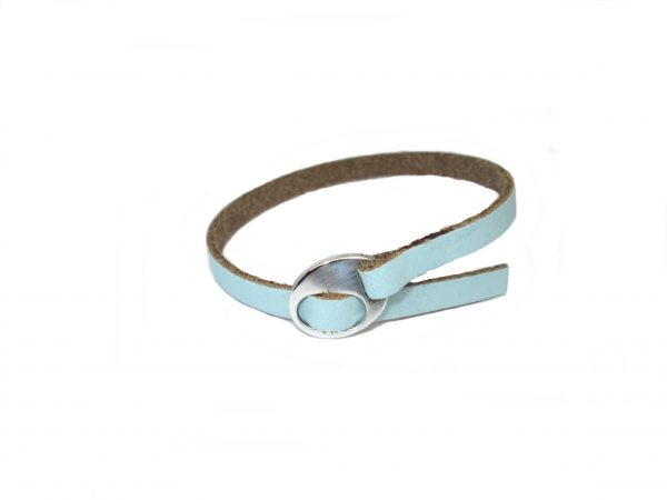 Meiden armband Light Aqua Blue