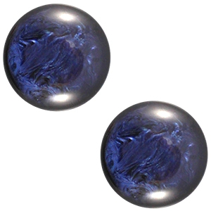 Schuiver 12mm pearl shine Evening blue