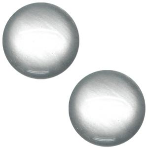 Schuiver 12 mm soft tone shiny Silver grey