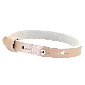 Dames armband  Metallic vintage rose