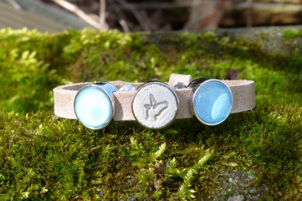 """Libelle dames armband: """" unicorn """""""