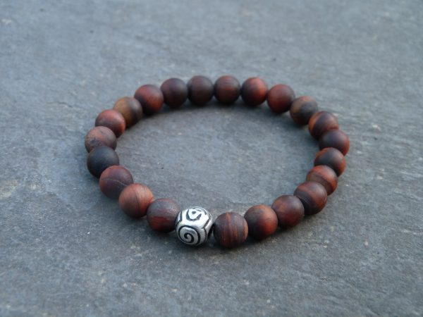 Red Tiger Eye kralenarmband